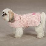 View Image 2 of East Side Collection Posh Fleece Dog Jacket - Pink Leopard