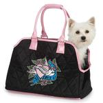 View Image 1 of East Side Collection Quilted I Love U Pet Carrier