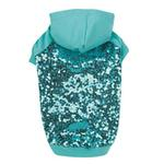 View Image 2 of Sequin Dog Pullover - Blue