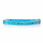 View Image 1 of Sparkle Gemstone Cat Collar - Blue