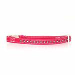 View Image 1 of Sparkle Gemstone Cat Collar - Raspberry