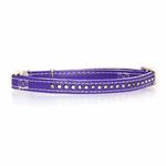 View Image 1 of Sparkle Gemstone Cat Collar - Ultra Violet