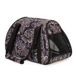 View Image 2 of Stowaway Pet Carrier - Black Paisley