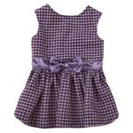 View Image 1 of East Side Collection Teatime Dog Dress - Purple