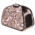 View Image 4 of Ultimate Tent Pet Carrier - Pink Paisley