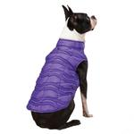 View Image 1 of Vibrant Leopard Dog Vest - Ultra Violet