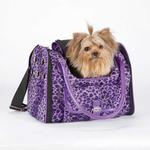 Vibrant Leopard Pet Carrier - Ultra Violet