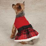 Yuletide Tartan Party Dress