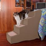 View Image 2 of Easy Step Pet Stairs - Tan