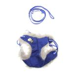 EasyGO Winter Skull Dog Harness by Dogo - Blue