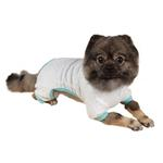 View Image 2 of Elephant Dog Pajamas - Blue
