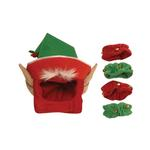 View Image 1 of Elf Holiday Dog Costume with Leg Cuffs