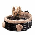 View Image 1 of Elfish Dog Bed by Pinkaholic - Beige