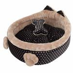 View Image 4 of Elfish Dog Bed by Pinkaholic - Beige