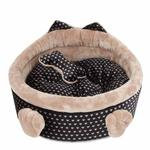View Image 2 of Elfish Dog Bed by Pinkaholic - Beige