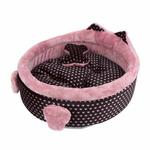 View Image 3 of Elfish Dog Bed by Pinkaholic - Pink