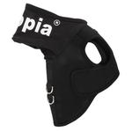 View Image 2 of Elite Hooded Mesh Dog Harness by Puppia - Black