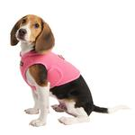 View Image 1 of Elite Hooded Mesh Dog Harness by Puppia - Pink