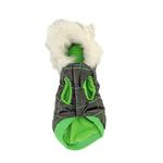View Image 2 of Eskimo Dog Jacket by Gooby - Green & Black