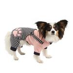 View Image 1 of Euphoria Dog Hooded Jumpsuit by Pinkaholic - Navy