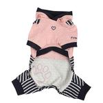View Image 2 of Euphoria Dog Hooded Jumpsuit by Pinkaholic - Navy