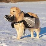 View Image 2 of Extreme Outdoor EX Backpack by Doggles - Gray/Black