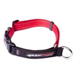 View Image 1 of EzyDog Checkmate Limited-Slip Dog Collar - Red