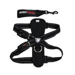 View Image 1 of EzyDog Chest Plate Dog Harness - Black