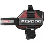 View Image 2 of EzyDog Convert Dog Harness - Burgundy