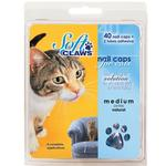 View Image 1 of Feline Soft Claws Nail Caps Home Kit - Purple