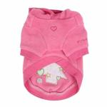 View Image 2 of Festive Holiday Dog Hoodie by Pinkaholic- Pink