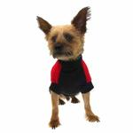 View Image 3 of Fido Fleece Rolling Bones Dog Coat