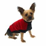 View Image 4 of Fido Fleece Rolling Bones Dog Coat