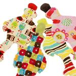 View Image 1 of Flat Quack Stuffing-Free Dog Toy - Bright Designs