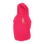 Fleece Vest Hoodie Dog Harness by Gooby - Pink