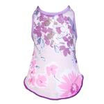 View Image 1 of Floral Spring Dog Dress by Gooby - Purple