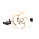View Image 2 of Flower Dog Collar by Lazybonezz - Black
