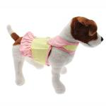 View Image 3 of Flower Dress Harness by Doggles - Yellow