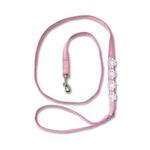 View Image 1 of Flower Dress Leash for Harness by Doggles - Pink Lace