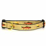 View Image 1 of Fly Fishing Dog Collar by Up Country