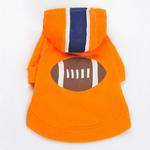 View Image 3 of Football Dog Sweatshirt by Dogo