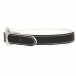 View Image 3 of FouFou Reversible Dog Collar - Black/White