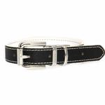 View Image 4 of FouFou Reversible Dog Collar - Black/White