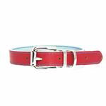 View Image 2 of FouFou Reversible Dog Collar - Blue/Red