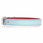 View Image 3 of FouFou Reversible Dog Collar - Blue/Red