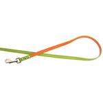 View Image 4 of FouFou Reversible Dog Leash - Green/Orange