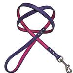 FouFou Reversible Dog Leash - Purple/Fuchsia