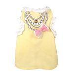 View Image 1 of FouFou Ruffled Dog Tank - Yellow