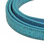 View Image 2 of Foxy Glitz Dog Leash - Blue