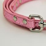 View Image 2 of Foxy Glitz Dog Leash - Pink
